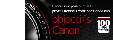Conçus pour répondre aux normes rigoureuses des photographes professionnels, voyez comment les objectifs EF de Canon offrent les technologies de pointe qui répondent à leurs besoins.