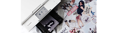Any time you need to go from digital to paper, PIXMA is there in a wireless flash.